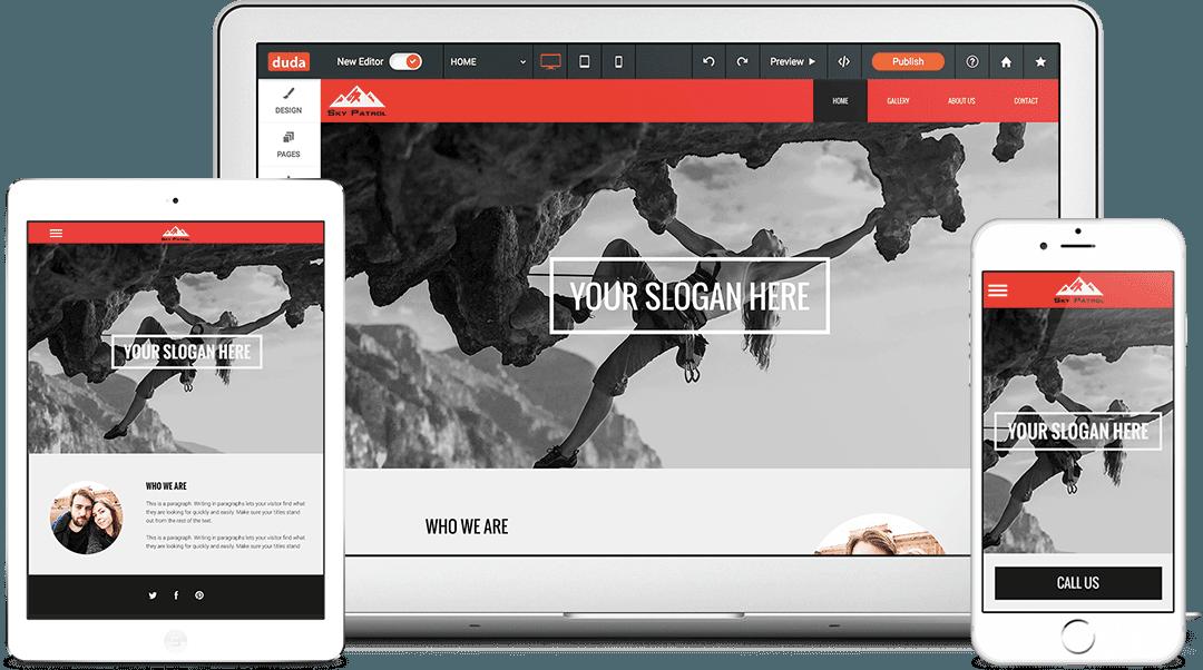 Website Builder For Professionals Duda Website Builder